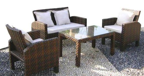 Set de muebles kuchi hogar donde todo me gusta for Muebles jardin rattan